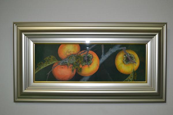 ミニ個展(柿)