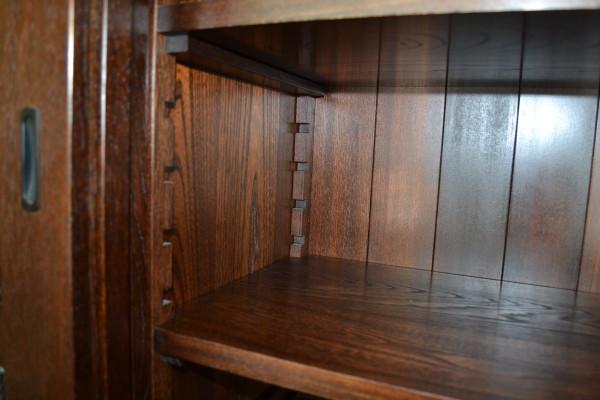 150欅総無垢漆塗水屋箪笥(棚板)
