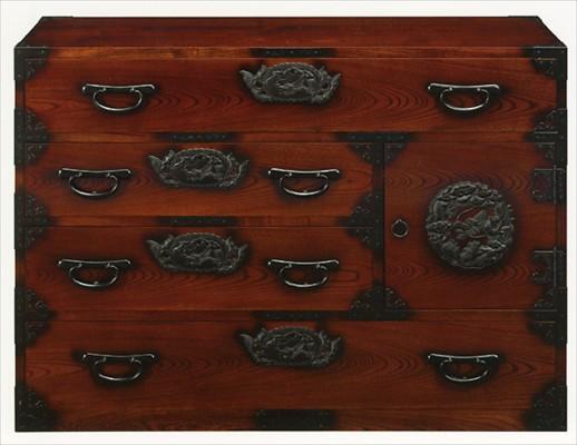 欅民芸箪笥
