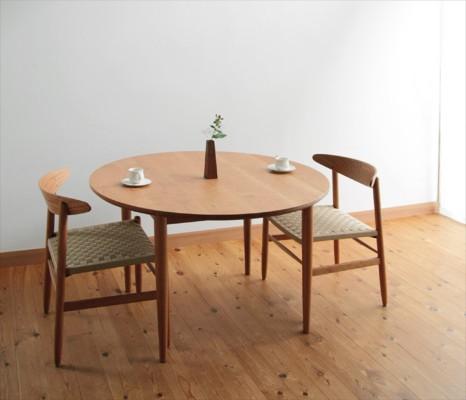 丸テーブル④