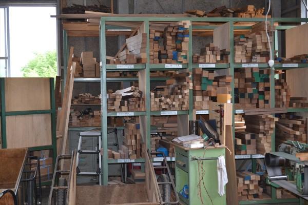 木取り材の保存